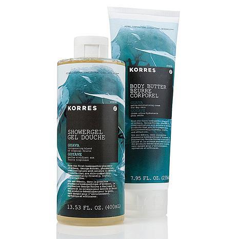 Korres Guava Showergel & Body Butter