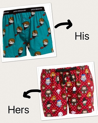 Peter Alexander His & Hers HP short