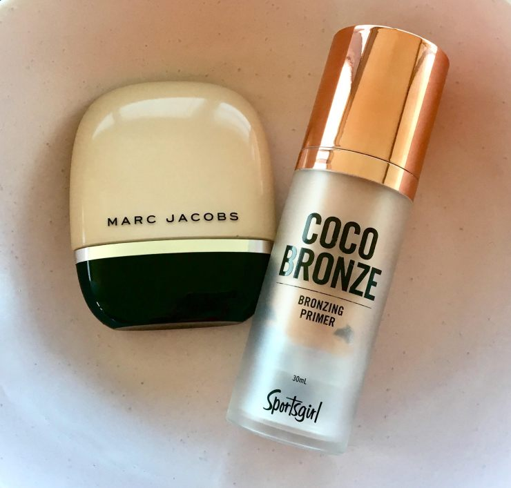 Marc Jacobs Shameless Foundation + Sportsgirl Coco Bronze Primer